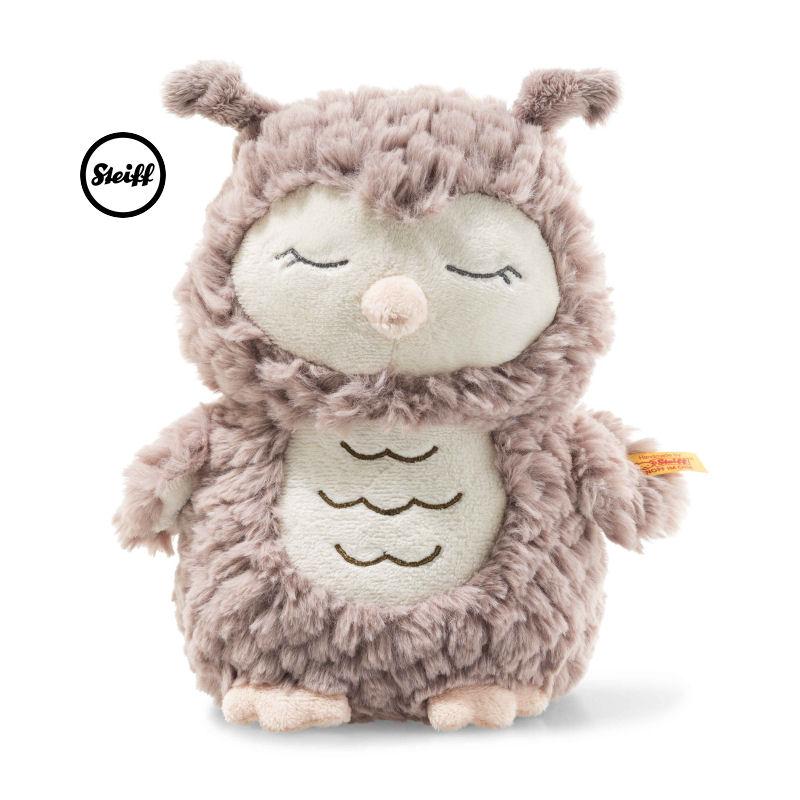 Steiff 史戴芙 Ollie猫头鹰 毛绒玩具 淡棕色 23cm 4001505241833