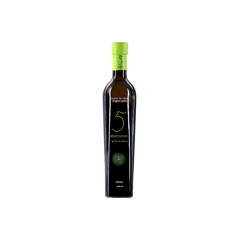 五元素 特级初榨橄榄油 500ml/瓶(皮夸尔)