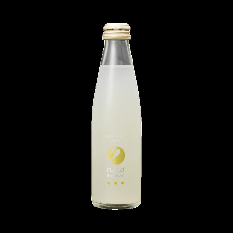 TOMOMASU 友桝饮料 n.e.o 高级姜汁汽水 200ml/瓶*6
