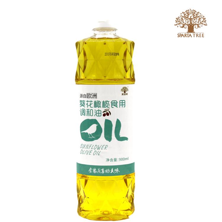 黄金树葵花橄榄食用调和油900ml
