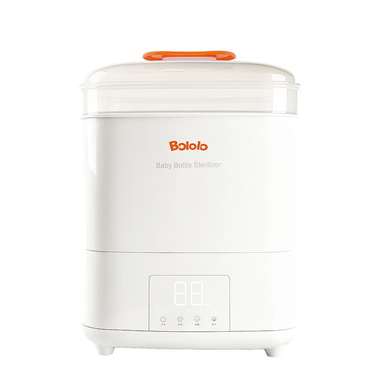 波咯咯(bololo)奶瓶消毒器带烘干 多功能婴儿消毒柜奶瓶消毒锅可保管 液晶升级款 BL-1010S