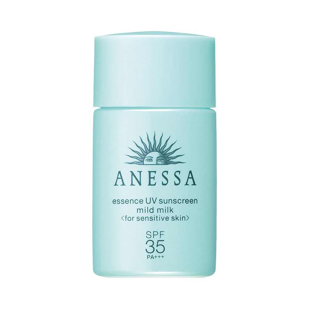 SHISEIDO 資生堂 ANESSA 安耐曬藍瓶兒童溫和防曬霜 SPF35·PA+++20ml