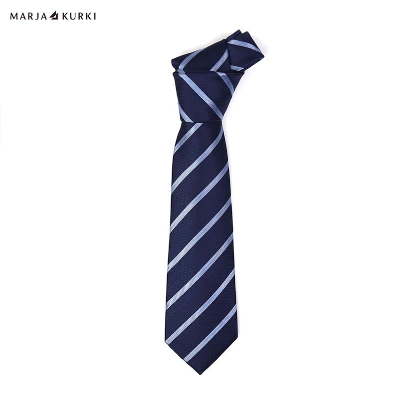 玛丽亚.古琦(MARJAKURKI)商务正装领带桑蚕丝领带男礼盒装传承经典2HH800139蓝色