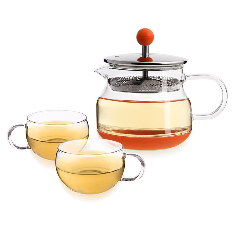 花色优品MINI TEA水壶套装(3件套)STB-0133