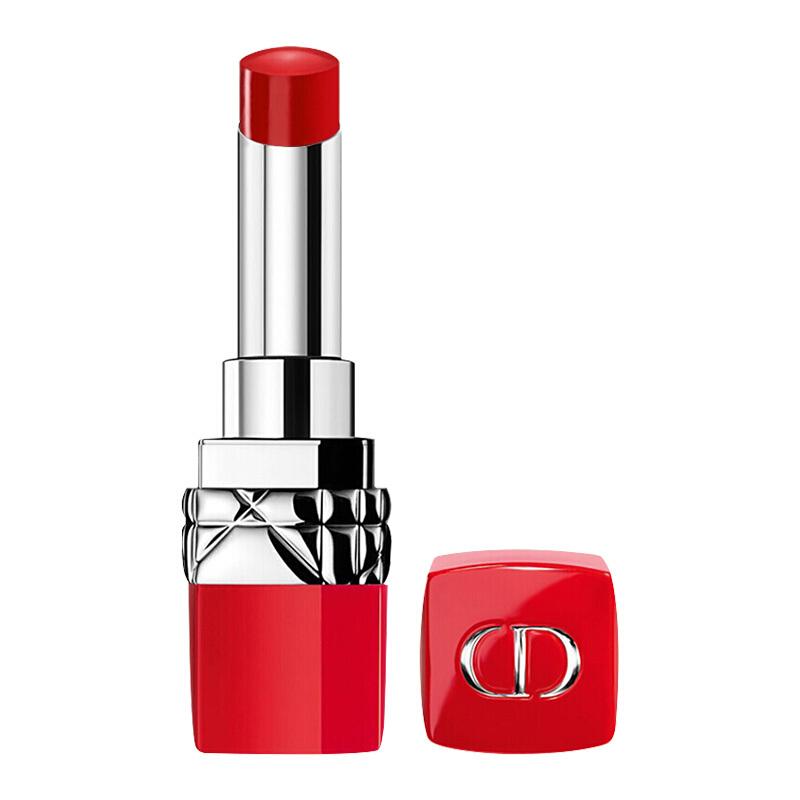 迪奧(Dior)烈艷藍金摯紅唇膏999#3.2g 正紅色(口紅 紅管經典 熾色持妝 不挑皮)