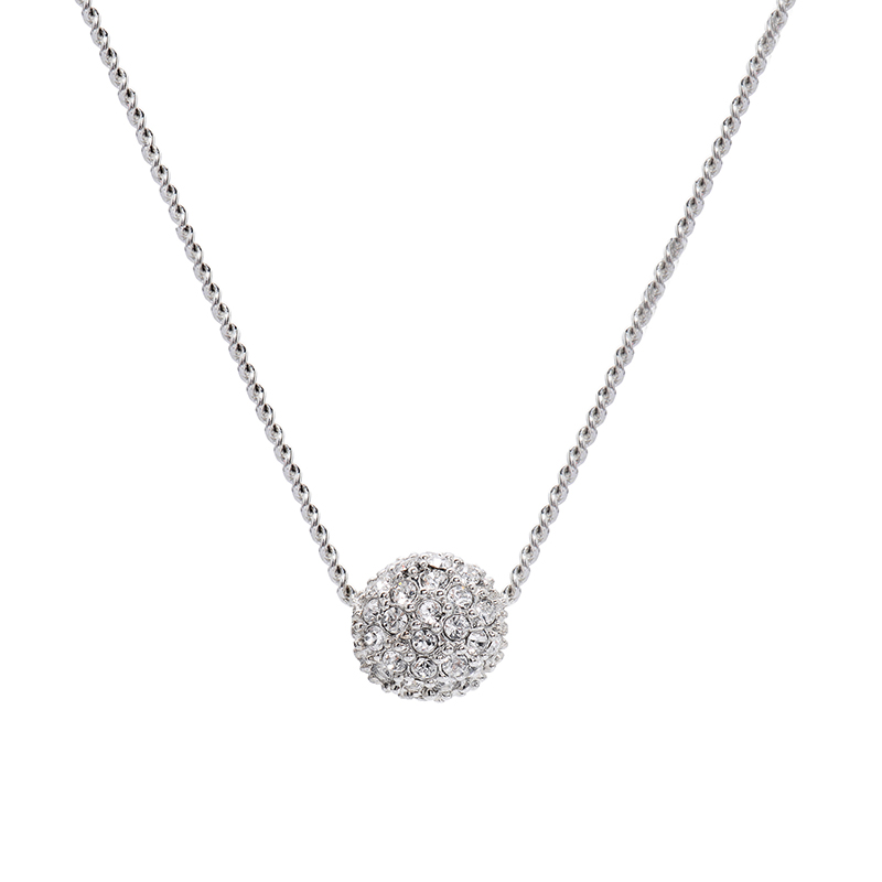 Givenchy/纪梵希 时尚密镶球型银色百搭女士项链 60414680-NY0