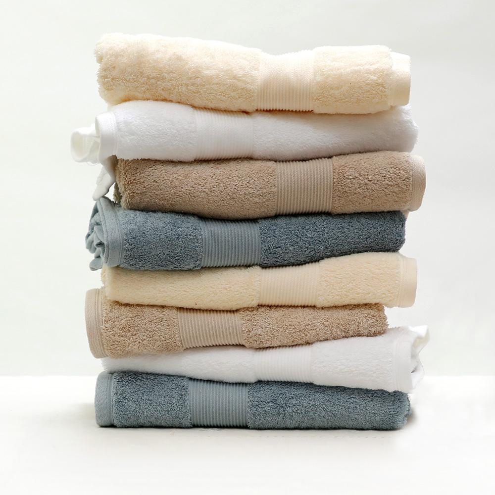 卡萨埃及棉毛巾 纯棉吸水 柔软舒适 加厚高毛圈全棉毛巾