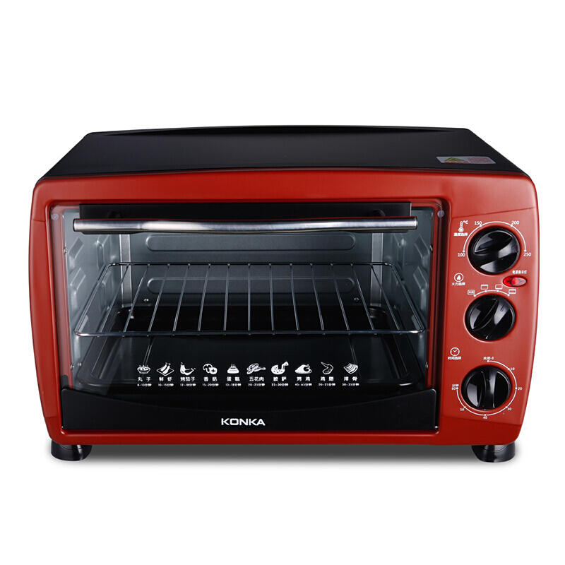 康佳(KONKA)多功能电烤箱金典烤箱KAO-2501 25L