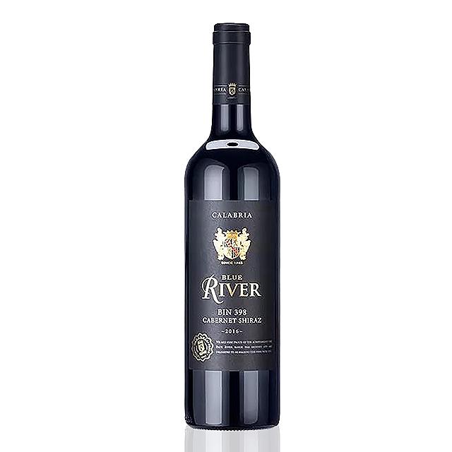 蓝河窖藏398赤霞珠色拉子红葡萄酒