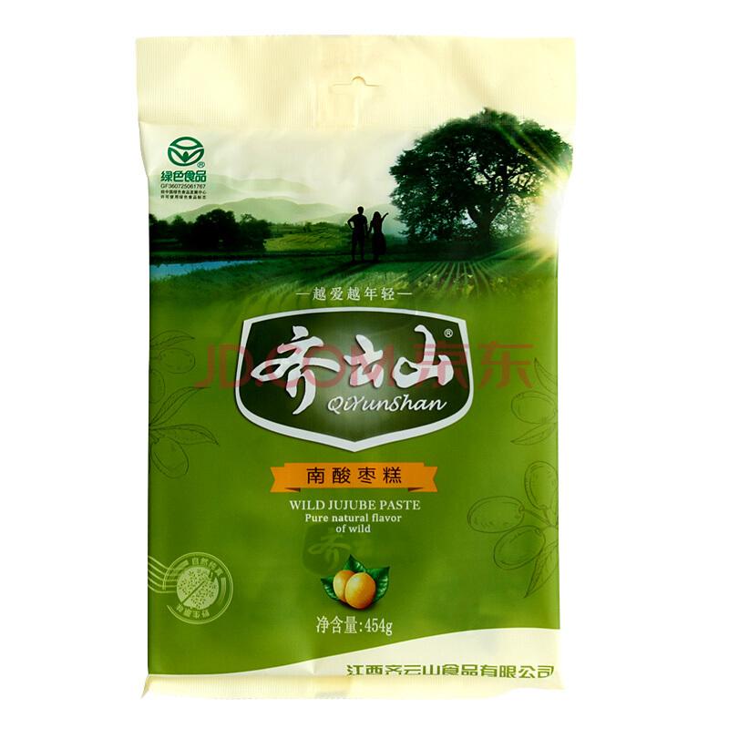 齐云山 蜜饯果干 南酸枣糕 454g,齐云山