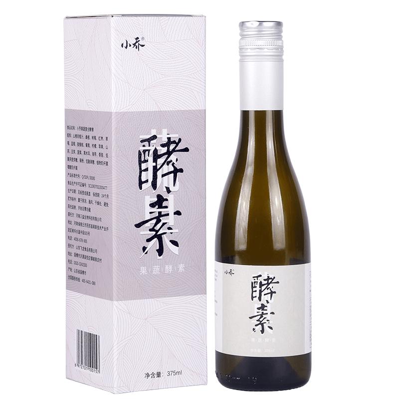 【小喬】小喬酵素原液果味飲品非孝素清腸排宿便非日本酵素375ml/瓶裝