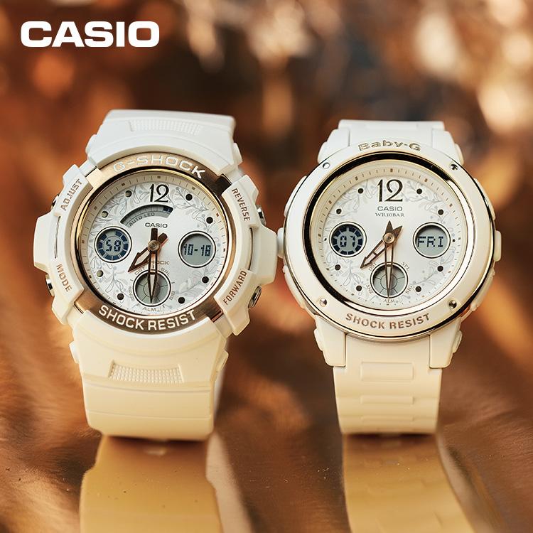 CASIO卡西歐BABY-G&G-SHOCK時尚潮酷新款情侶手表