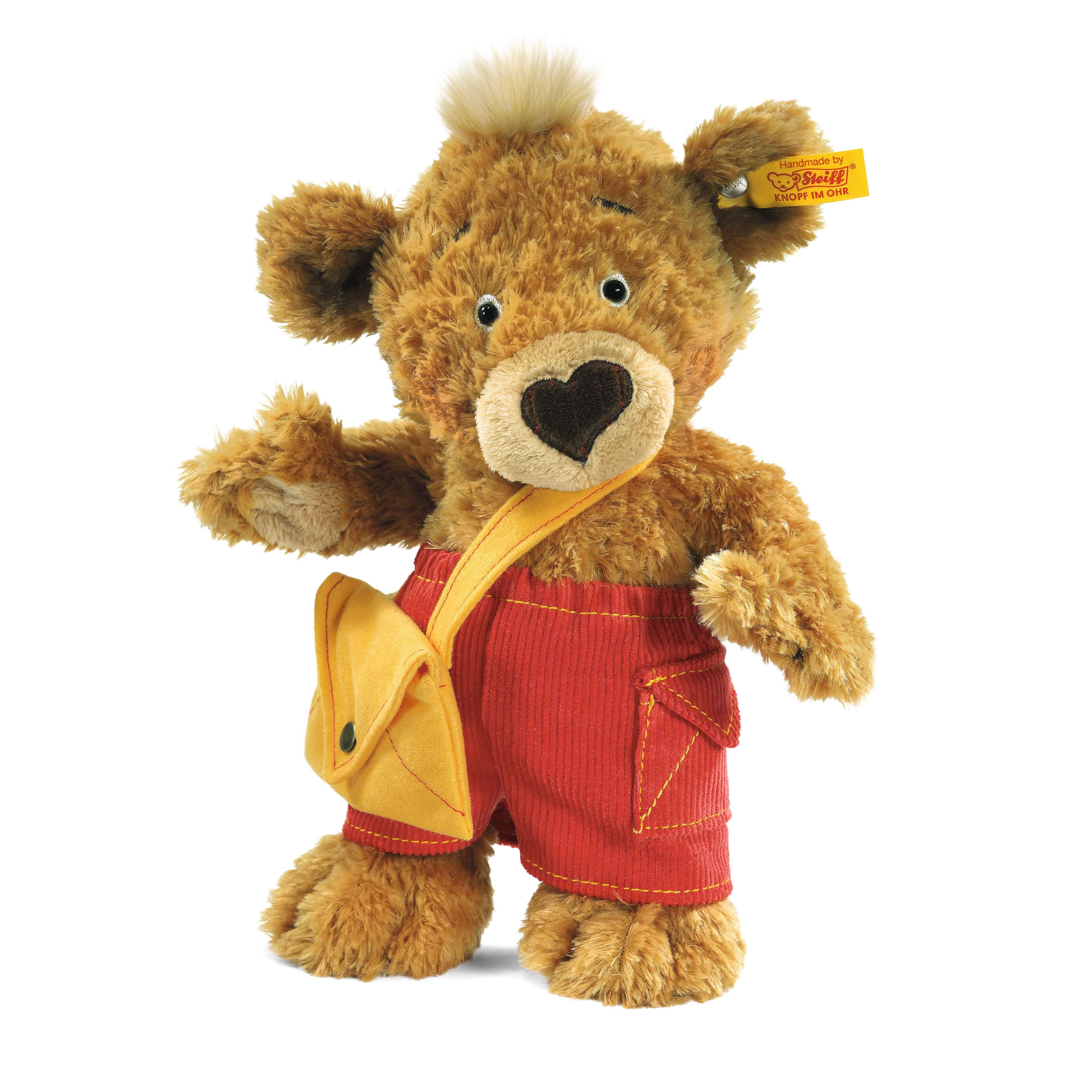 Steiff 史戴芙 Knopf泰迪熊 毛绒玩具 金黄色 25cm 4001505014444