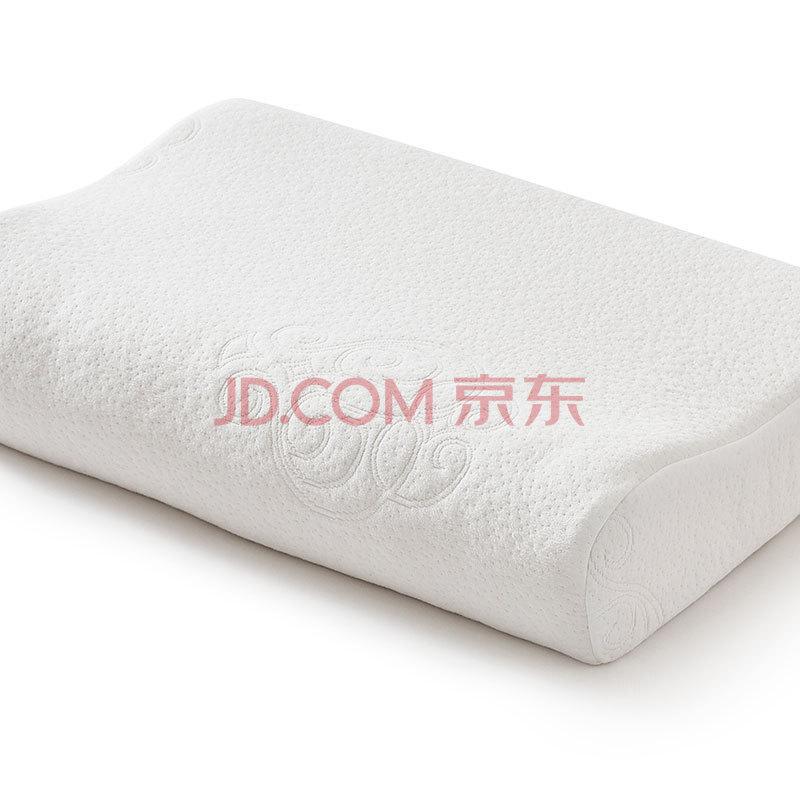罗莱家纺 LUOLAI 枕芯 太空棉慢回弹枕头 记忆枕 全棉面料 中号 37*57cm,罗莱(LUOLAI)