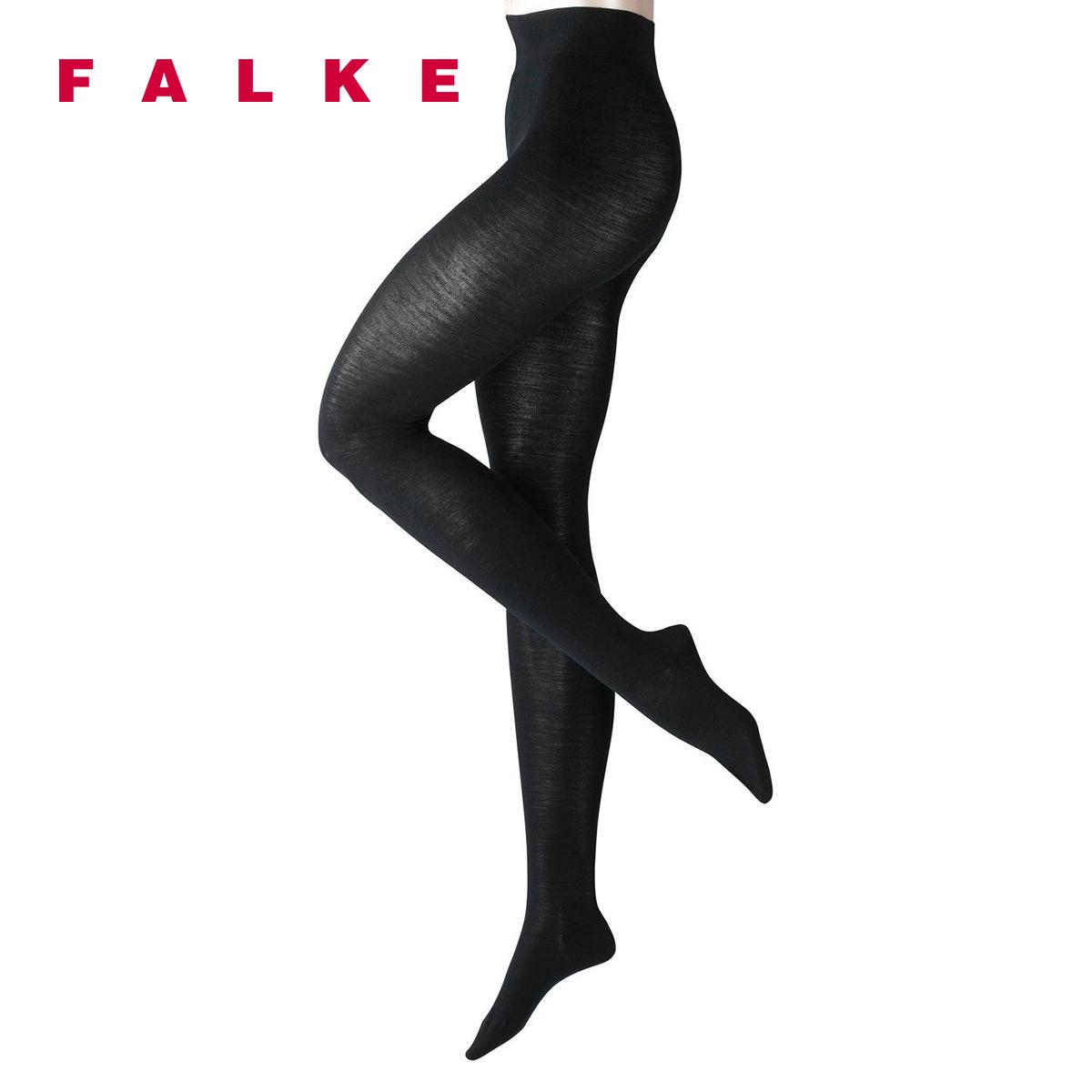 FALKE春夏季德国进口连裤袜Softmerino保暖肉色打底裤袜女48425