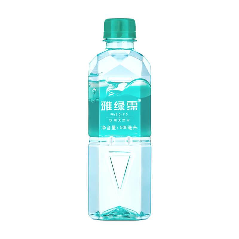 雅绿霈Yalipex中国台湾原装进口高颜值天然水小瓶500ml*24瓶/箱