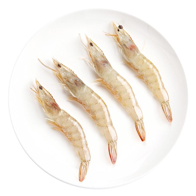 厄瓜多尔白虾 2kg/盒 40-50尾/kg