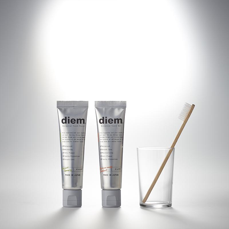 日本进口Diem植物精萃牙膏