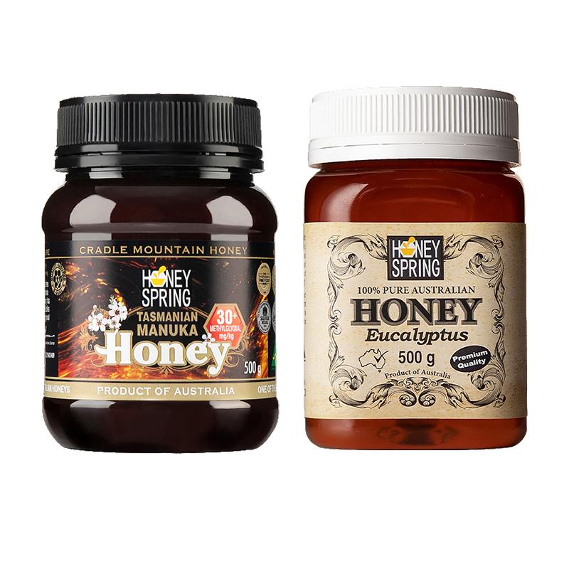 蜜泉麦卢卡30+蜂蜜+蜜泉桉树蜜