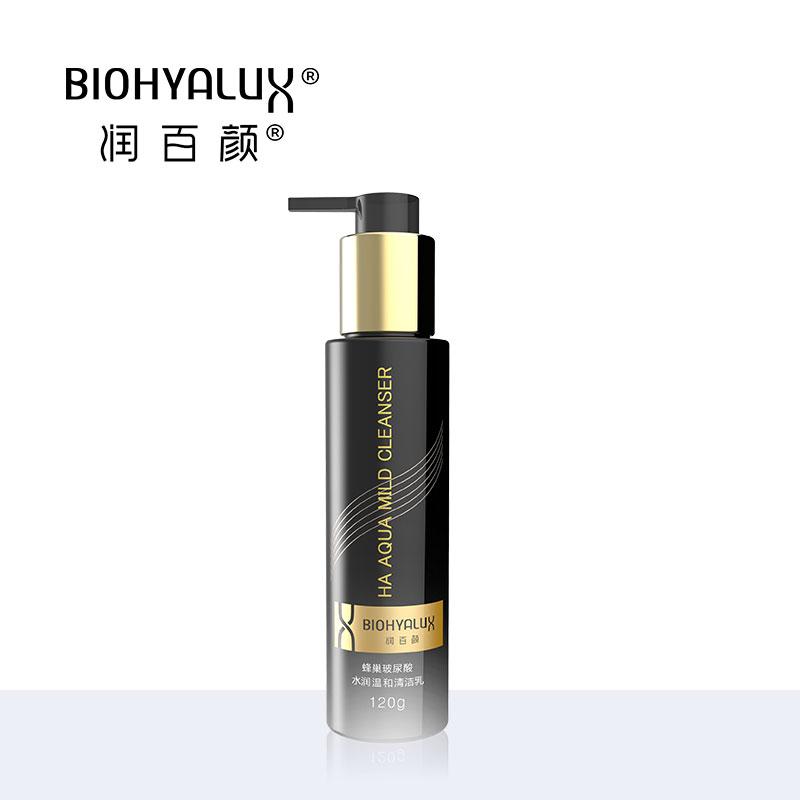 润百颜蜂巢玻尿酸水润温和清洁乳120g