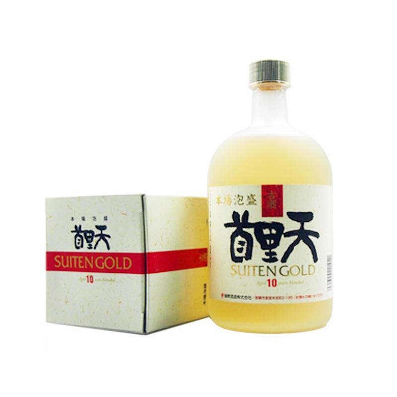 瑞穗酒造 冲绳泡盛酒 首里天 泡盛33年古酒 25度 720ml