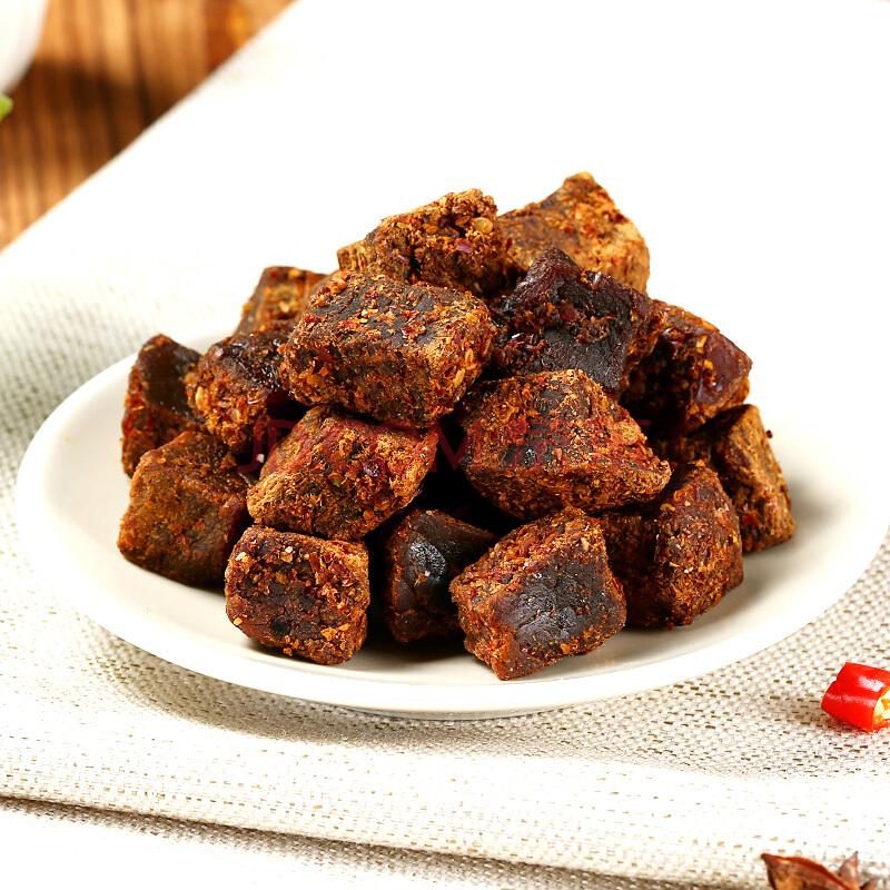 可可西里藏牦牛肉粒麻辣味150g 青海西藏特产 休闲零食,可可西里