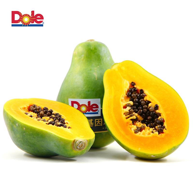 Dole都樂 菲律賓進口木瓜4只裝 單只約410g包郵新鮮水果