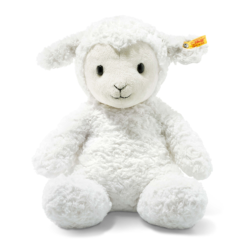 德国Steiff毛绒玩具毛绒羔羊白色 38cm 4001505073434