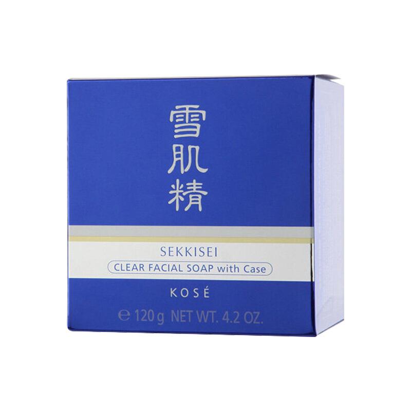 日本雪肌精 SEKKISEI 洗顏皂 120g(又名毛孔凈透洗顏皂)(洗面奶 手工皂 高絲集團 原裝進口)