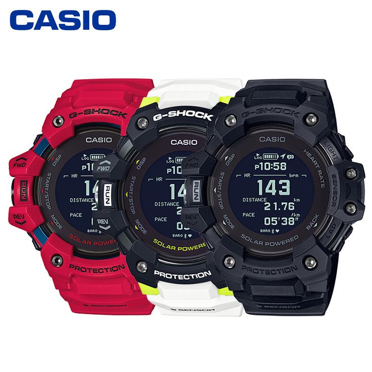 CASIO卡西欧GBD-H1000系列心率检测智能运动手表男表