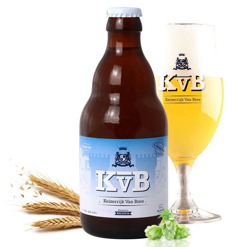布雷帝国(Keizerrijk)白啤酒 整箱装 330ml*24瓶 精酿啤酒 比利时进口