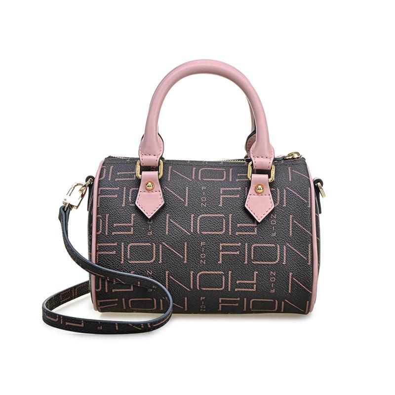 FION 菲安妮 新款迷你波士顿手提包女士单肩斜挎包 3色选择