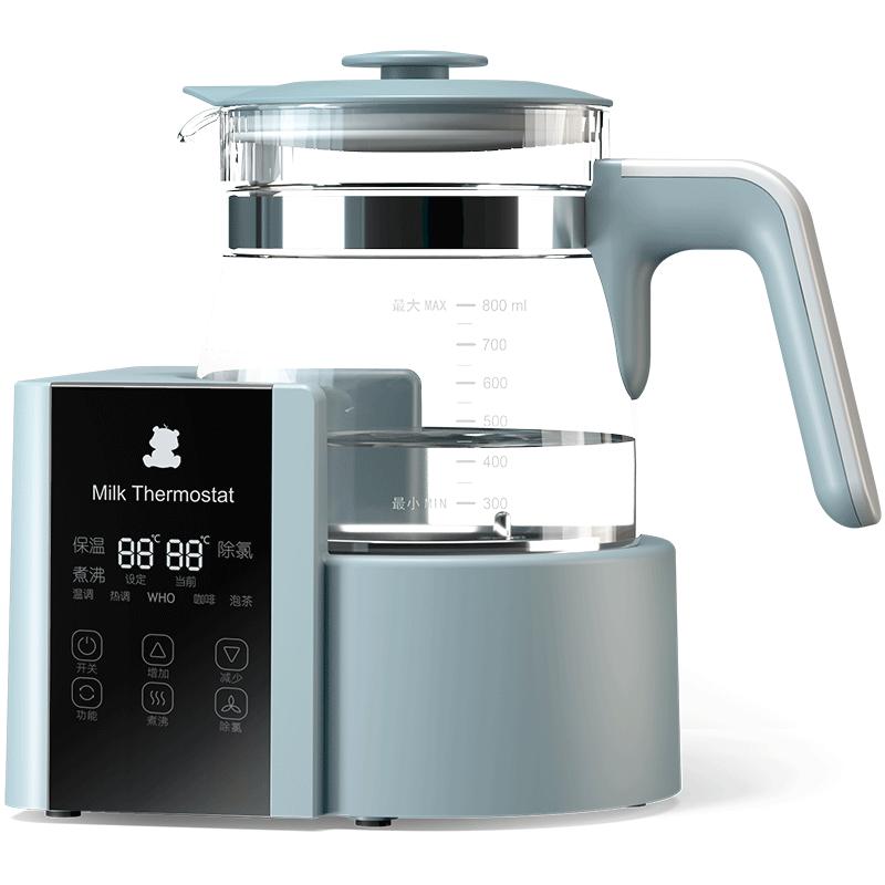 小白熊 恒温调奶器800ml 恒温水壶婴儿 暖奶温奶器除氯多功能冲泡奶粉咖啡饮料茶HL-5003