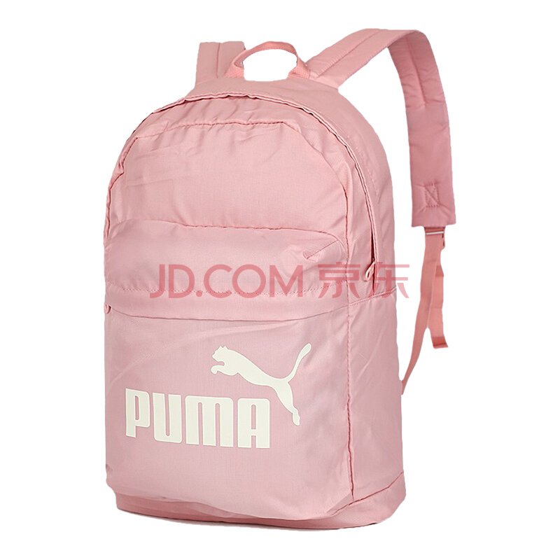彪马(PUMA) 男女 双肩包 背包 休闲包 学生书包 CLASSIC 运动包 075752 07新婚粉色中号,彪马(PUMA)