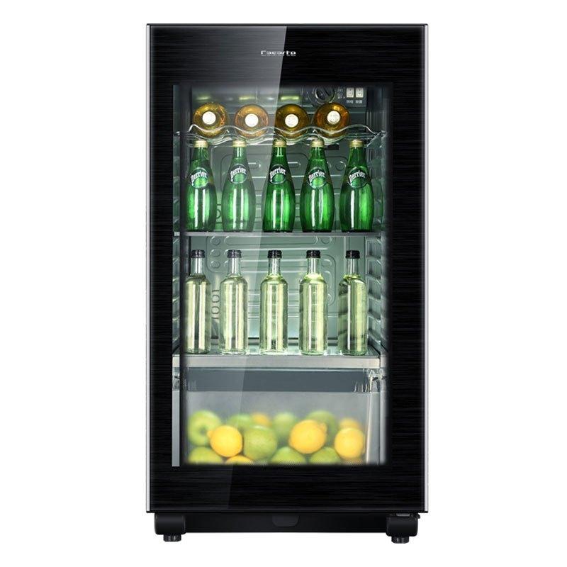 卡萨帝(Casarte)冰吧冷柜酒柜冷藏柜茶叶柜饮料柜122升家用小容量储藏LC-122K