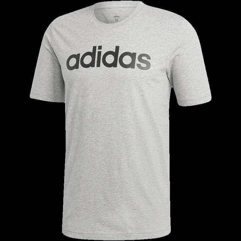阿迪达斯 ADIDAS 男子 运动型格 E LIN TEE 运动 T恤 DU0404 L码