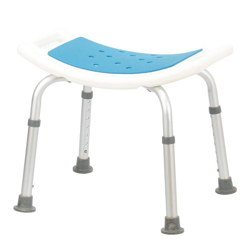 好步(HEPO)老人残疾人防滑浴室可升降铝合金洗澡椅