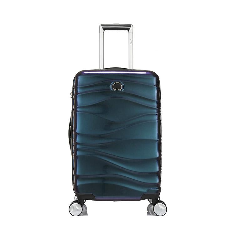 DELSEY法国大使 环箱体波浪纹时尚渐变色拉杆箱/行李箱000674805