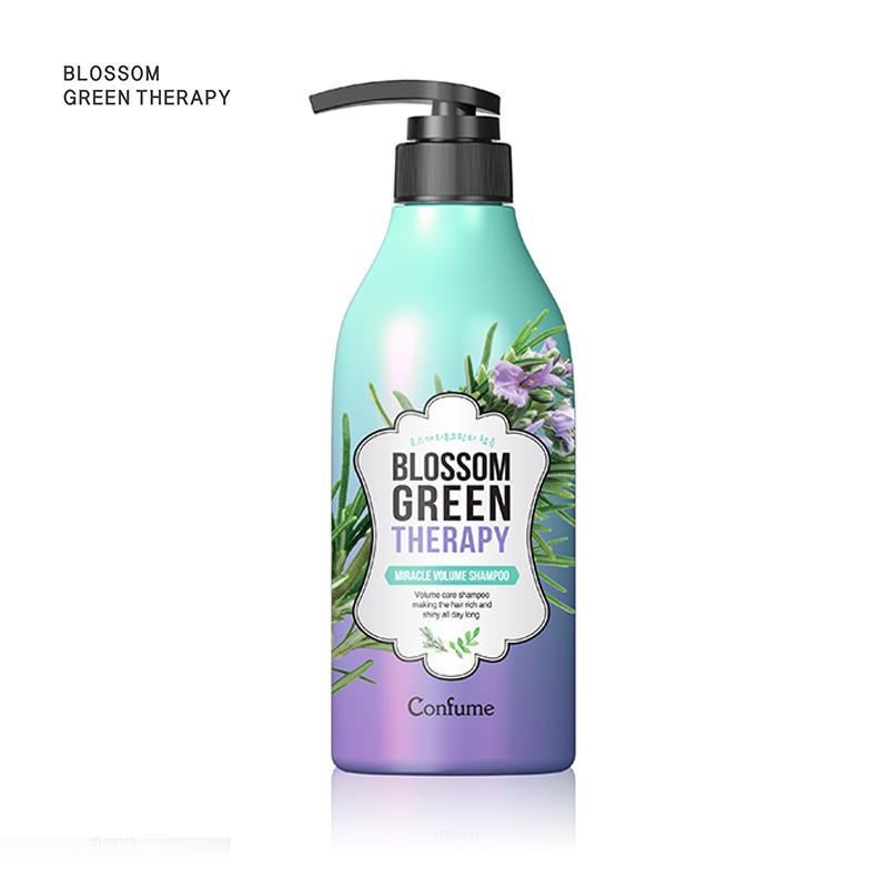 韩国KWAILNARA 维尔科斯 可芬 花香卷烫修护 洗发水 保持浓密感的日常洗发水 赋予毛发弹力 蓬松感 UP