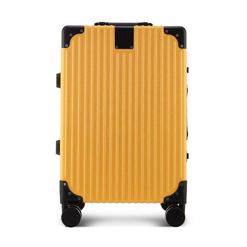 ELLE时尚万向轮旅行箱铝框拉杆箱ELDL1015B-20