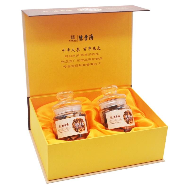陳李濟 五年新會陳皮禮盒裝45gx2瓶