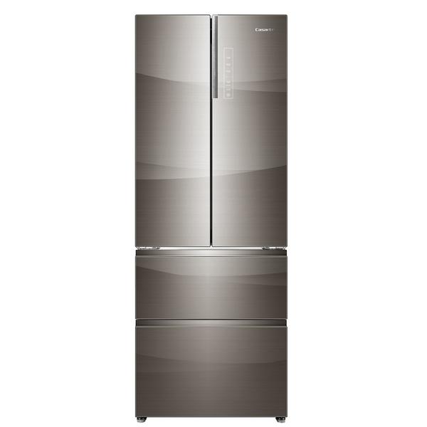 海尔卡萨帝465升干湿分储变频风冷无霜四门冰箱帛拉蒂(钛金)BCD-465WDCHU1