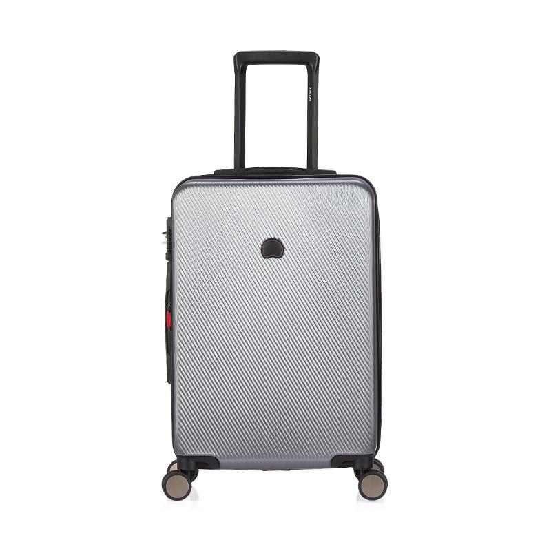 DELSEY法国大使 新款浮雕纹箱面可扩展加厚旅行拉杆箱/行李箱/8轮静音飞机轮万向轮/TSA海关锁/浮雕纹+拉丝箱体设计三年全球联保000458805