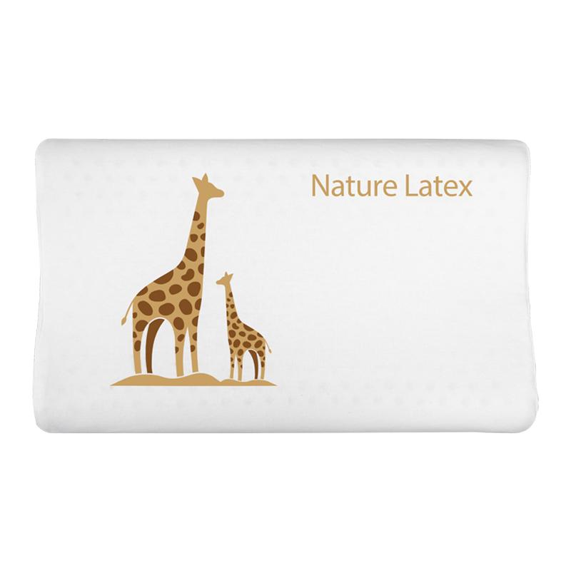 TAIPATEX泰国原装进口天然乳胶 儿童枕枕长颈鹿(大)