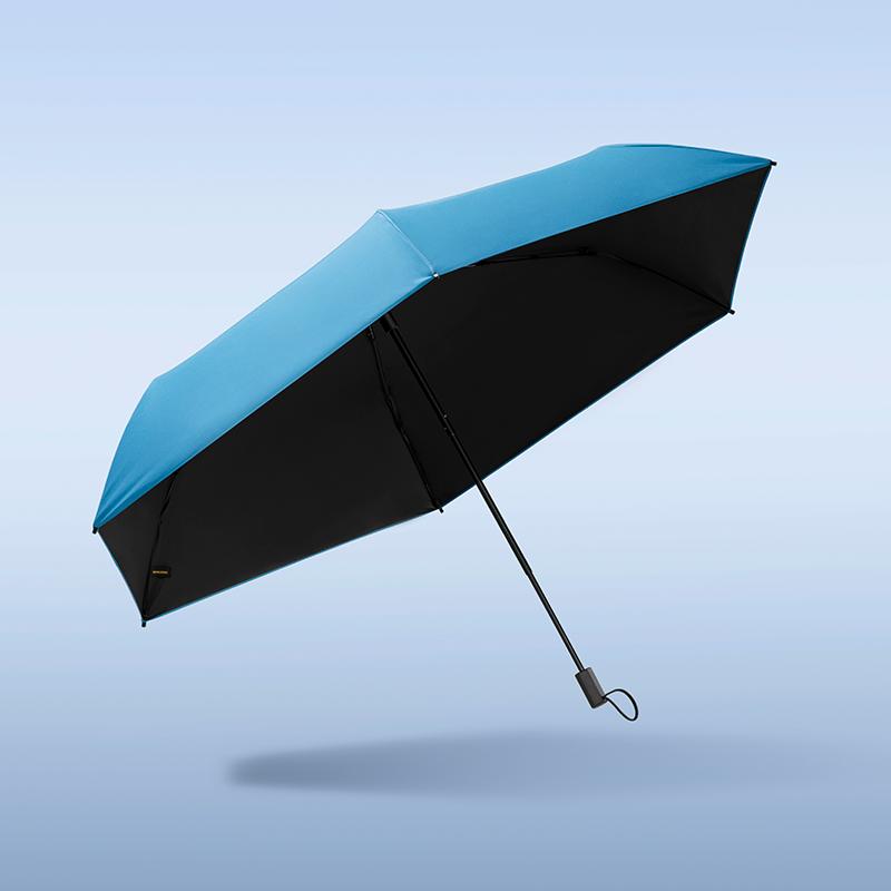 蕉下 AIR系列纯色小黑伞晴雨 伞防晒遮阳伞