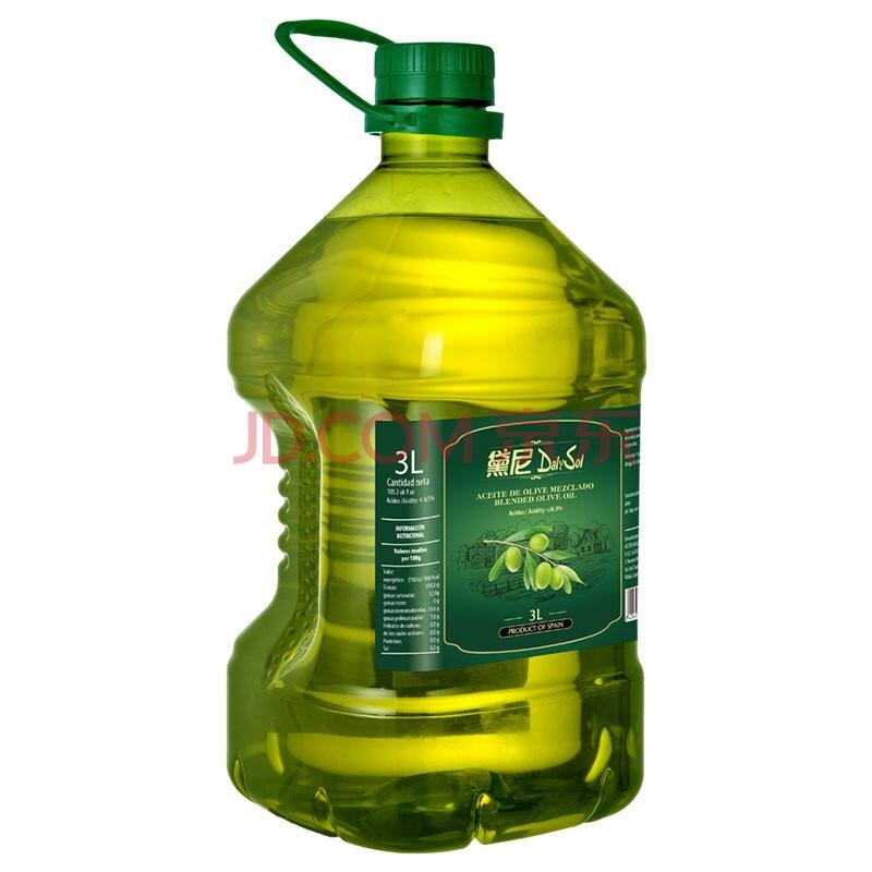 西班牙原瓶进口 黛尼(DalySol)纯正橄榄油3L 烹饪食用油,黛尼(DalySol)