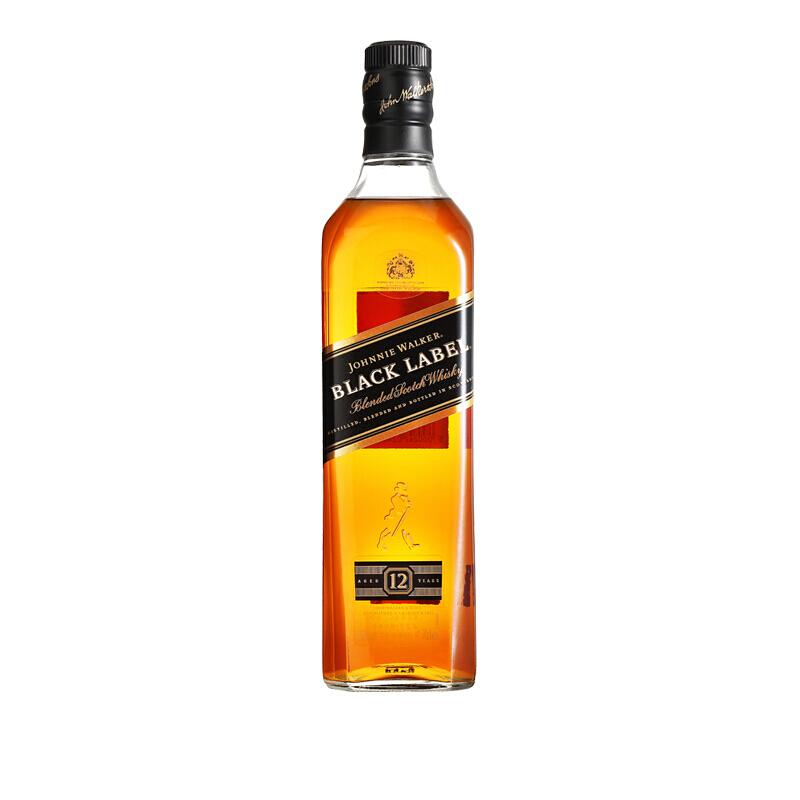 尊尼获加 黑牌苏格兰威士忌(无盒)700ml