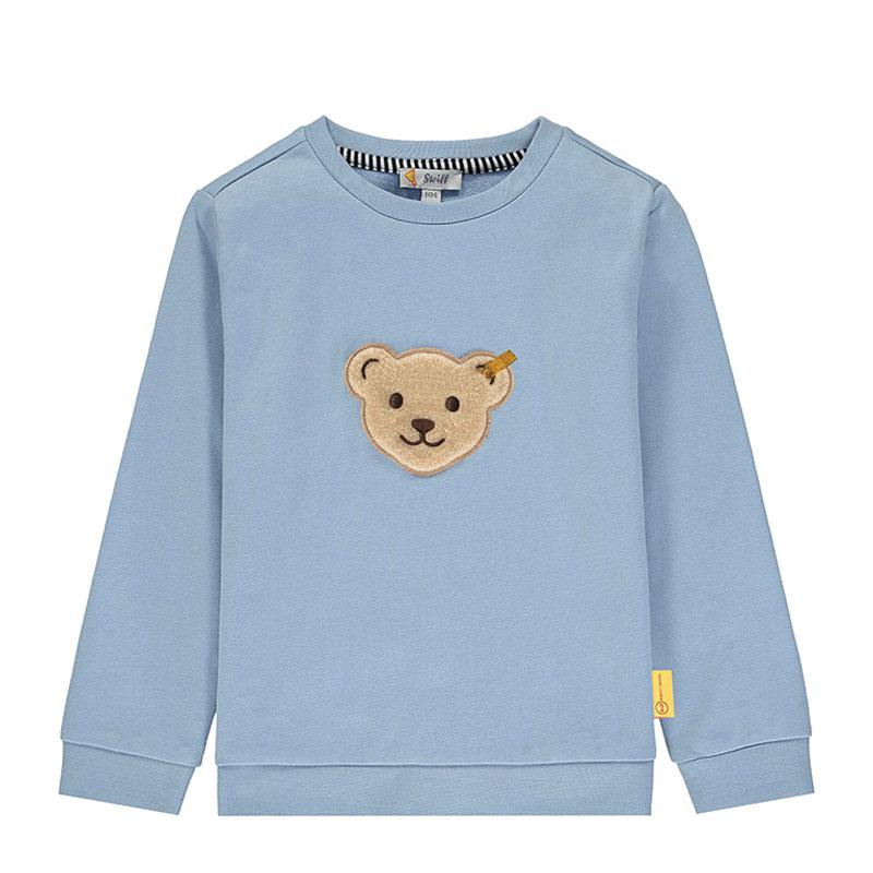Steiff嬰幼兒針織上衣 德國進口 男嬰男童小熊長袖T恤