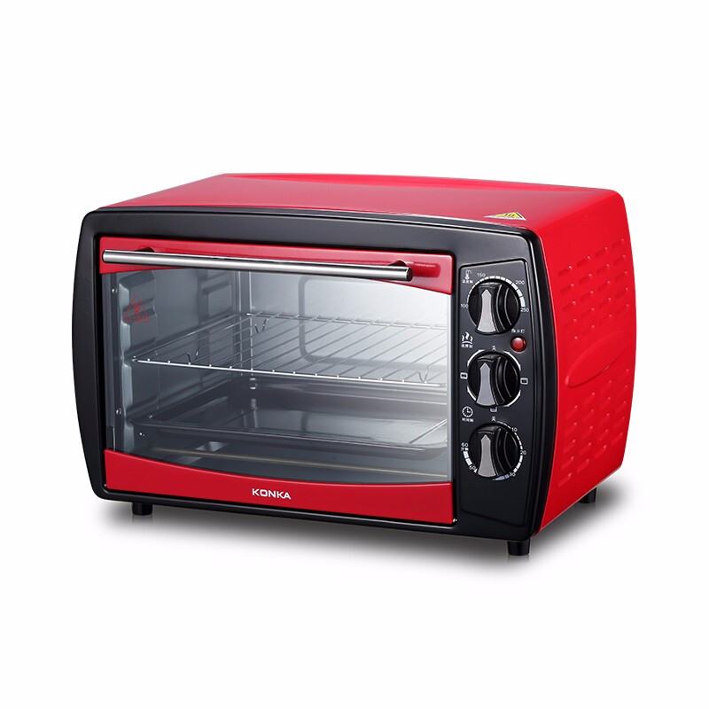 康佳(KONKA)电烤箱KGKX-5178中国红(内控KGKX-5178A)20L