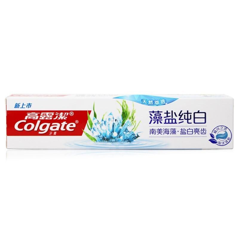 高露洁 藻盐纯白牙膏 120克 单支装